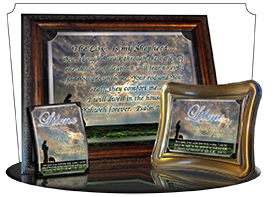 PL-AN34, Name Meaning Print,  Framed, Bible Verse memorial remembrance lileen shepherd sheep lamb