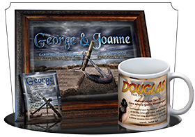 MU-SY59, Coffee Mug with Name Meaning and  Bible Verse, personalized, anchor ocean george