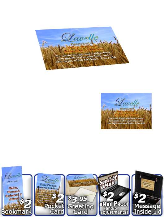 MU-GR05, Music Box with personalized name meaning & Bible verse, , personalized, lavelle grain field harvest