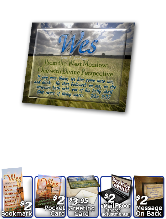 PL-SC36, Name Meaning Print,  Framed, Bible Verse, personalized,, wes, windmill, scenery
