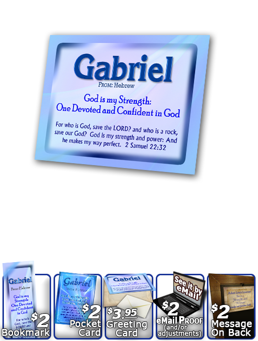 PL-SM05, Name Meaning Print,  Framed, Bible Verse, personalized, simple baby name baby blue gabriel simple basic