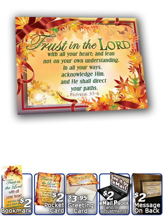 SG-8x10-LE10, Large 10x12 Plaque with Custom Bible Verse, personalized, tree leaves leaf autumn fall, Proverbs 3:5-6