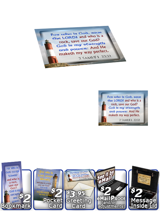 SG-MB-LH35, Custom Bible Verse on a Music Box, Bible Verse, personalized, lighthouse light, John 8:12, Isaiah 9:2,6